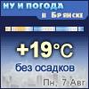 Ну и погода в Брянске - Поминутный прогноз погоды
